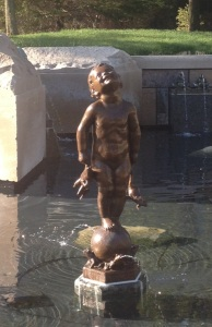Frog_Baby_Fountain,_Ball_State_University,_May_2013