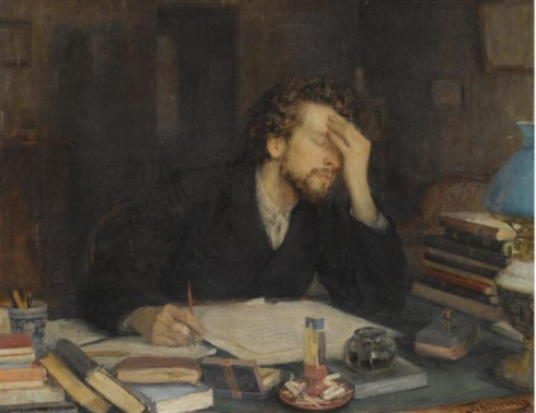 Leonid_Pasternak_-_The_Passion_of_creation